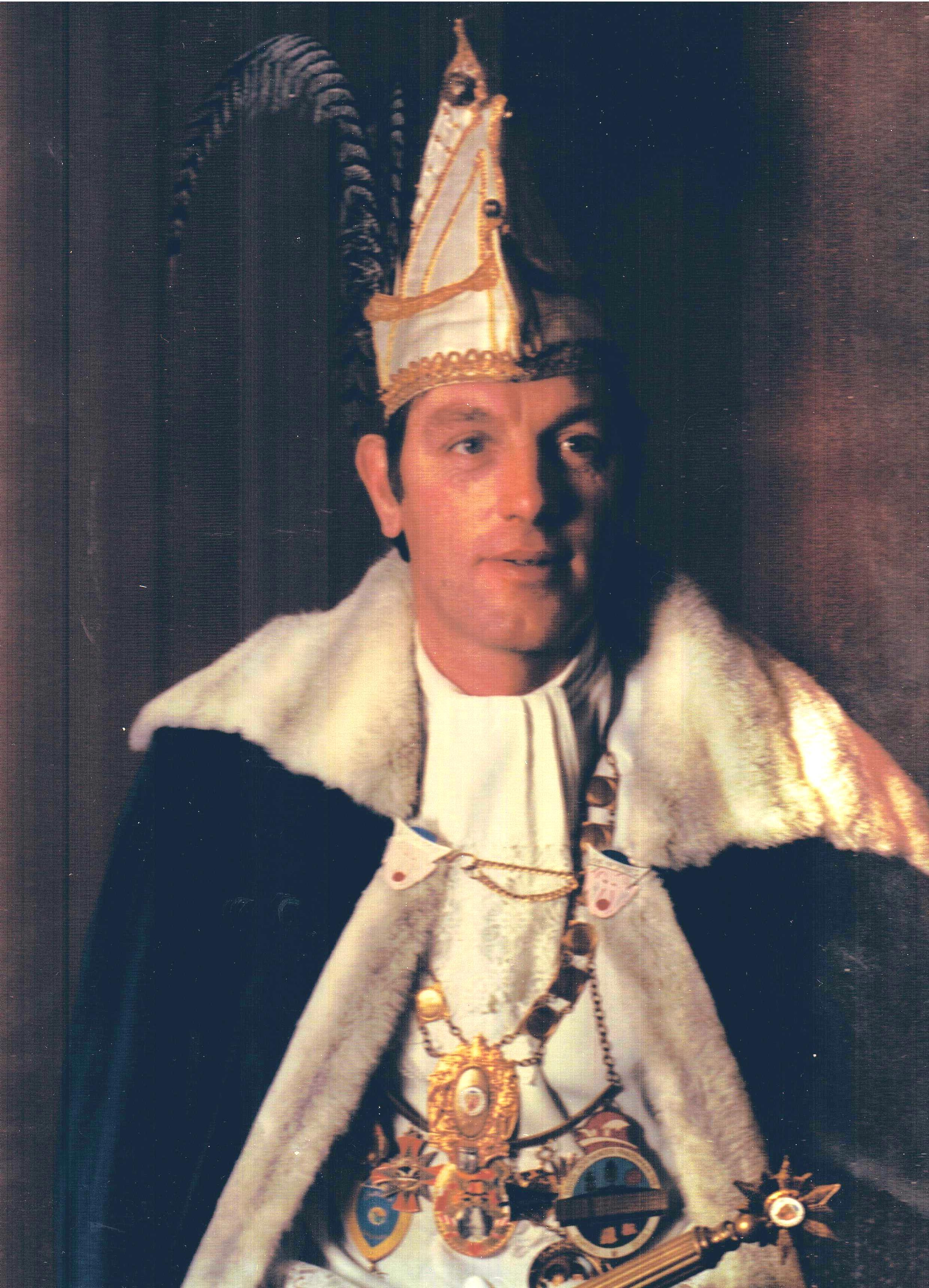 1976 1977 Prins Chistianus de 1e Chris Rust