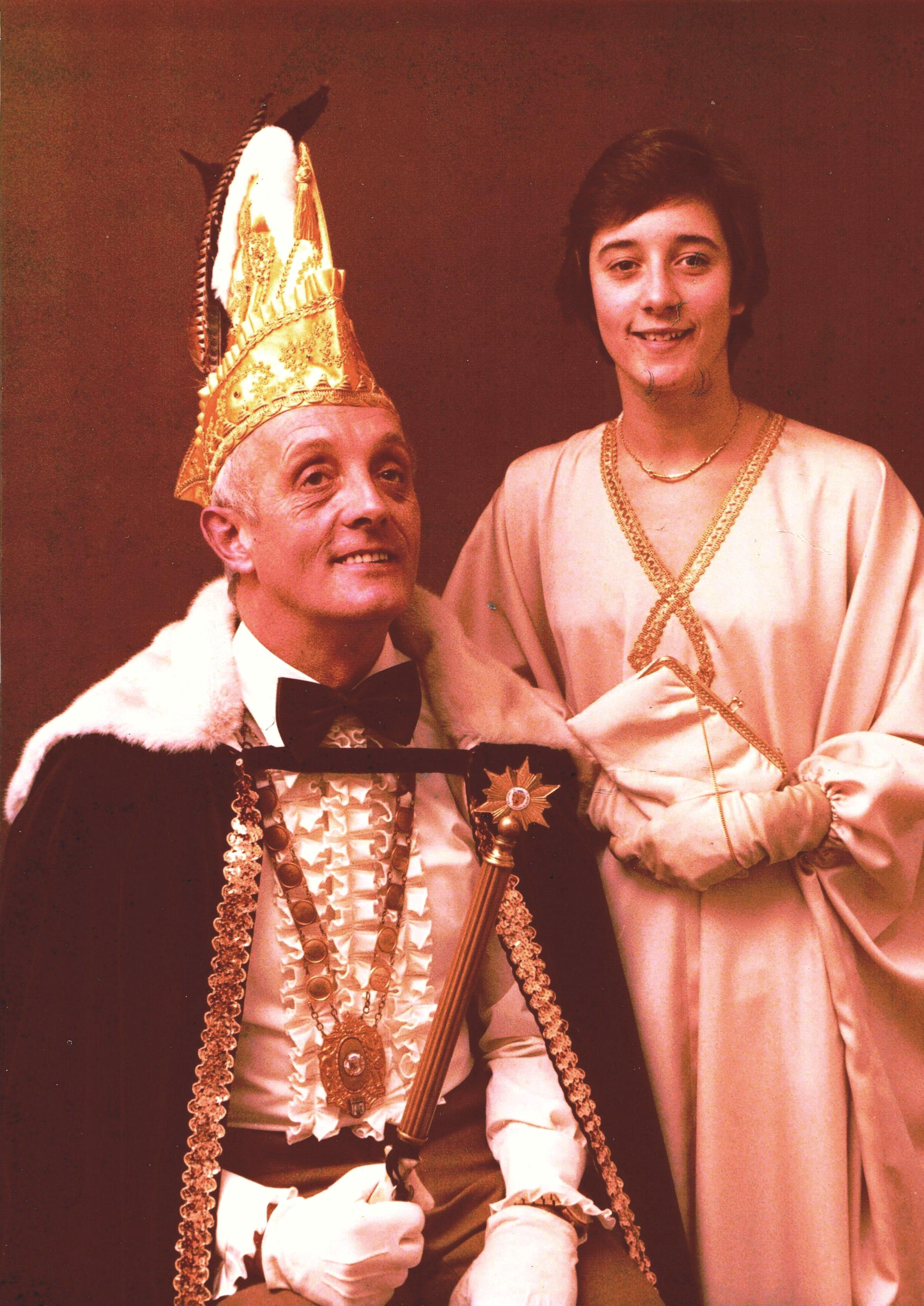 1979 1980 Prins Joop de 1e en Page Joop Breedveld