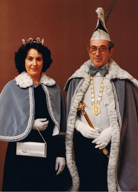 1980 1981 Prins Joop de 2e en Prinses Paula Joop en Paula de Beer