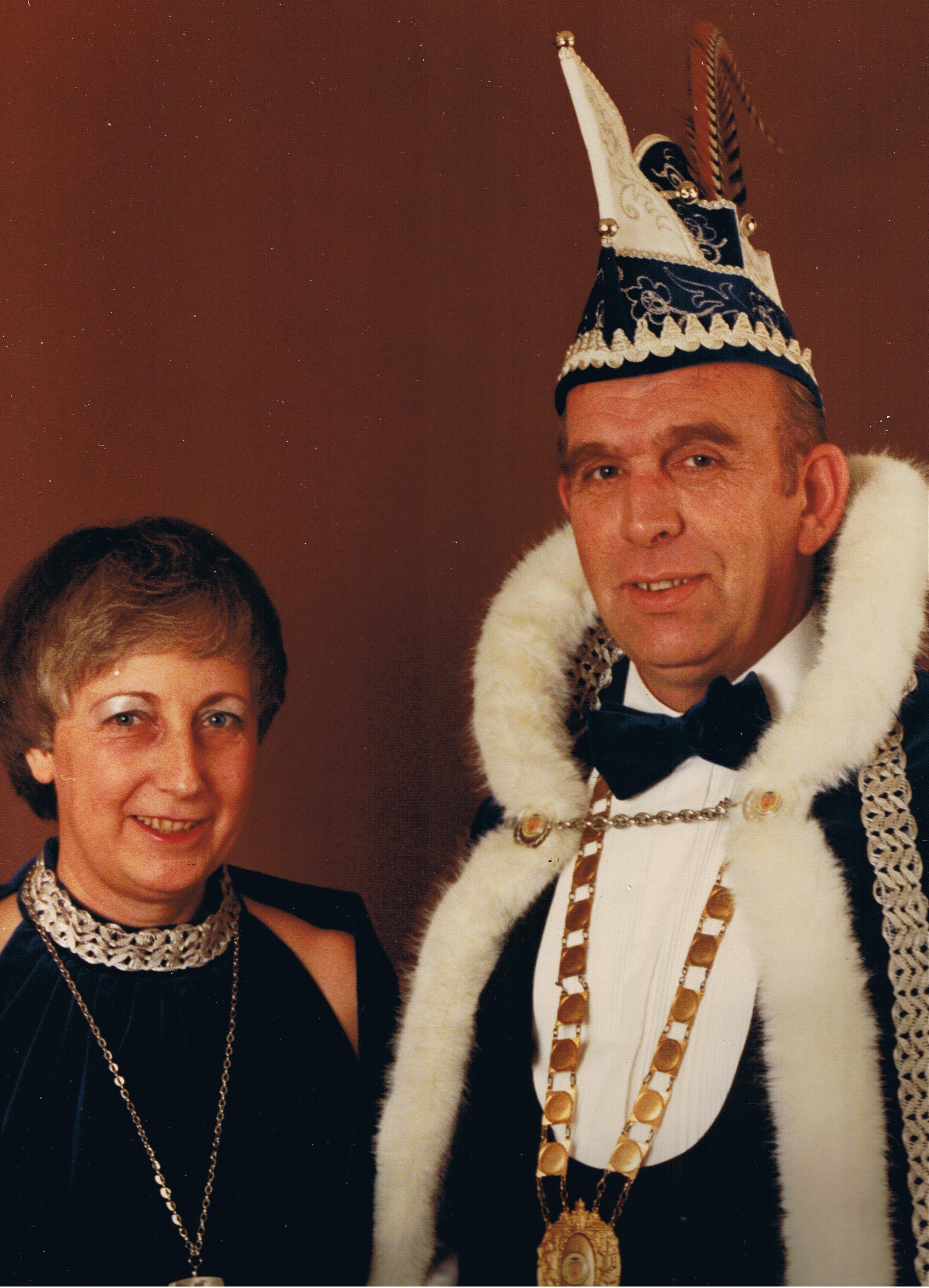 1982 1983 Prins Bert de 1e en Prinses Joke Bert en Joke Spijker