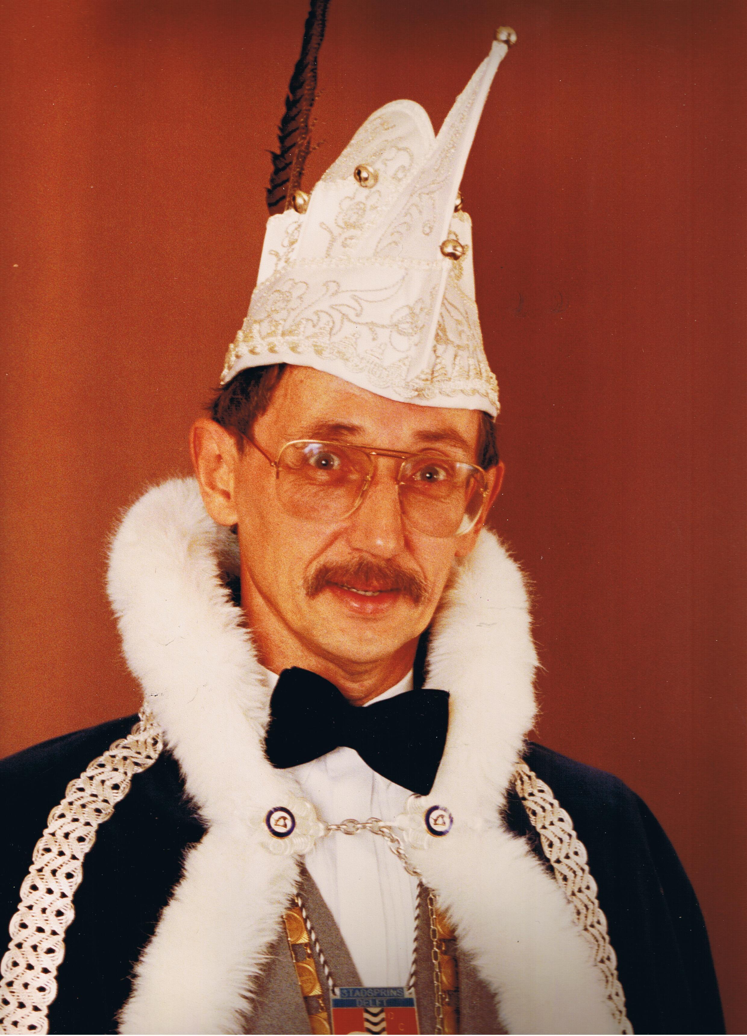 1984 1985 Prins Jan de 1e Jan van de Meer