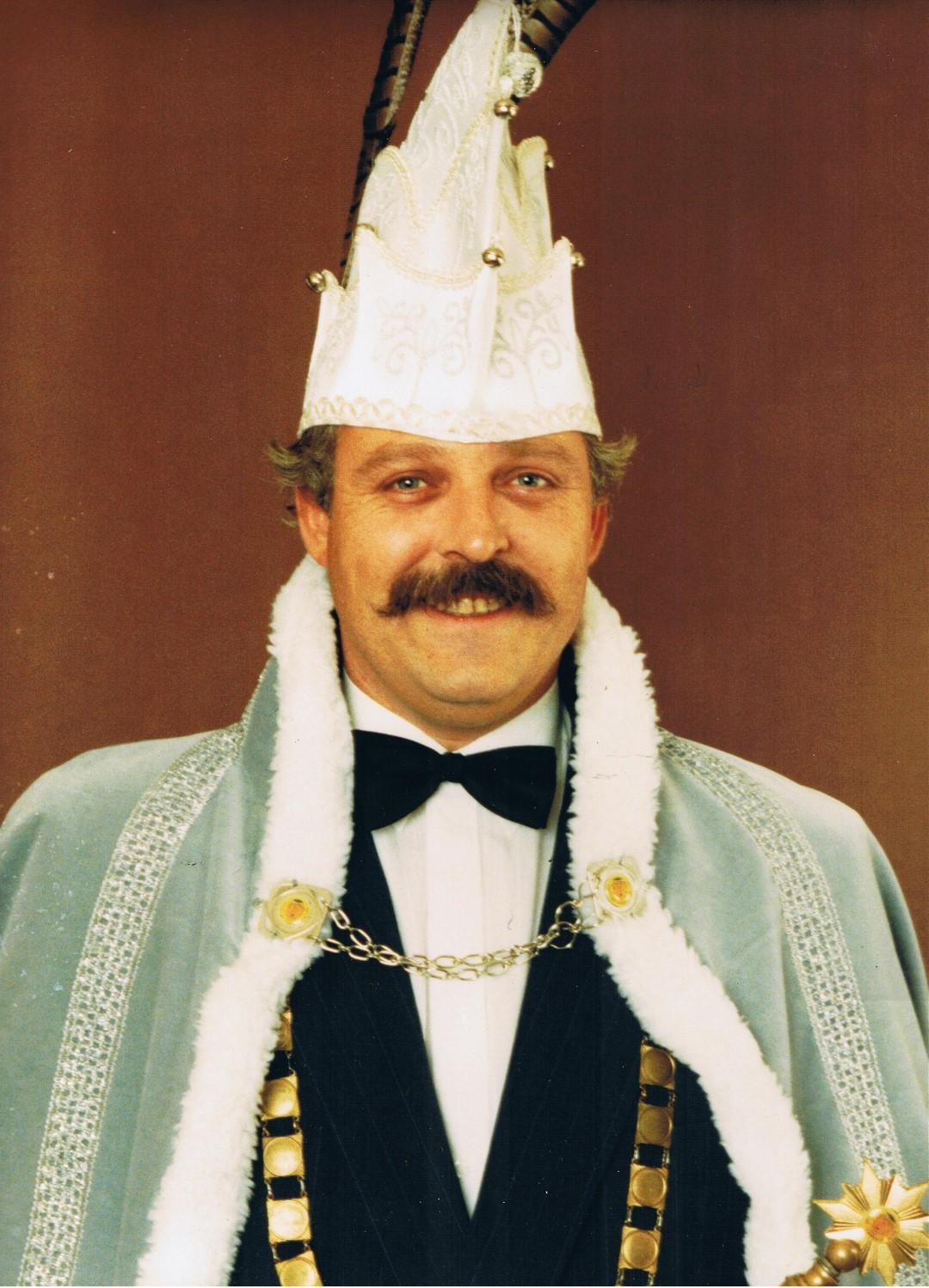 1988 1989 Prins Peter de 1e Peter van Dijk