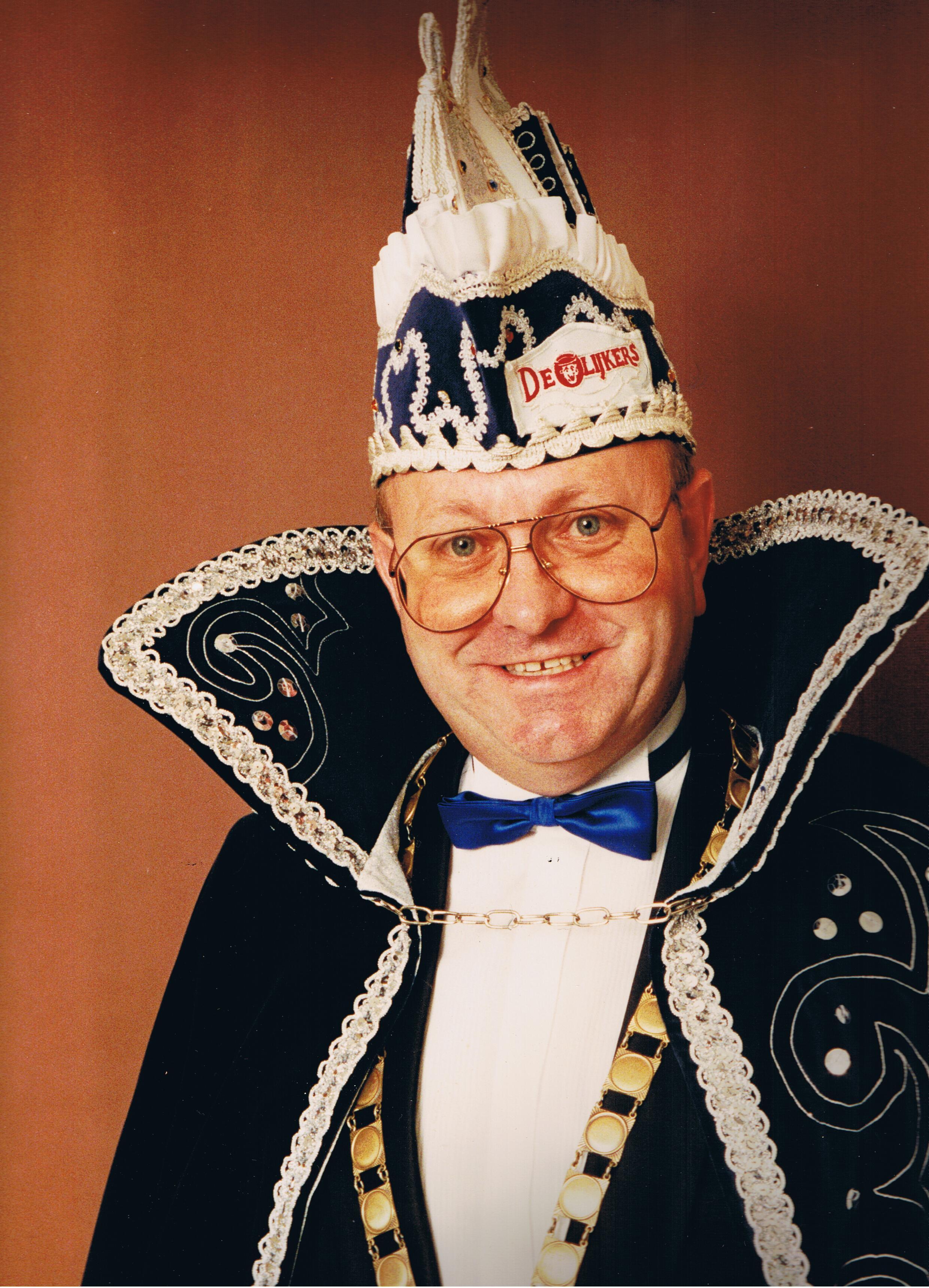1989 1990 Prins Aad de 2e Aad de Koning