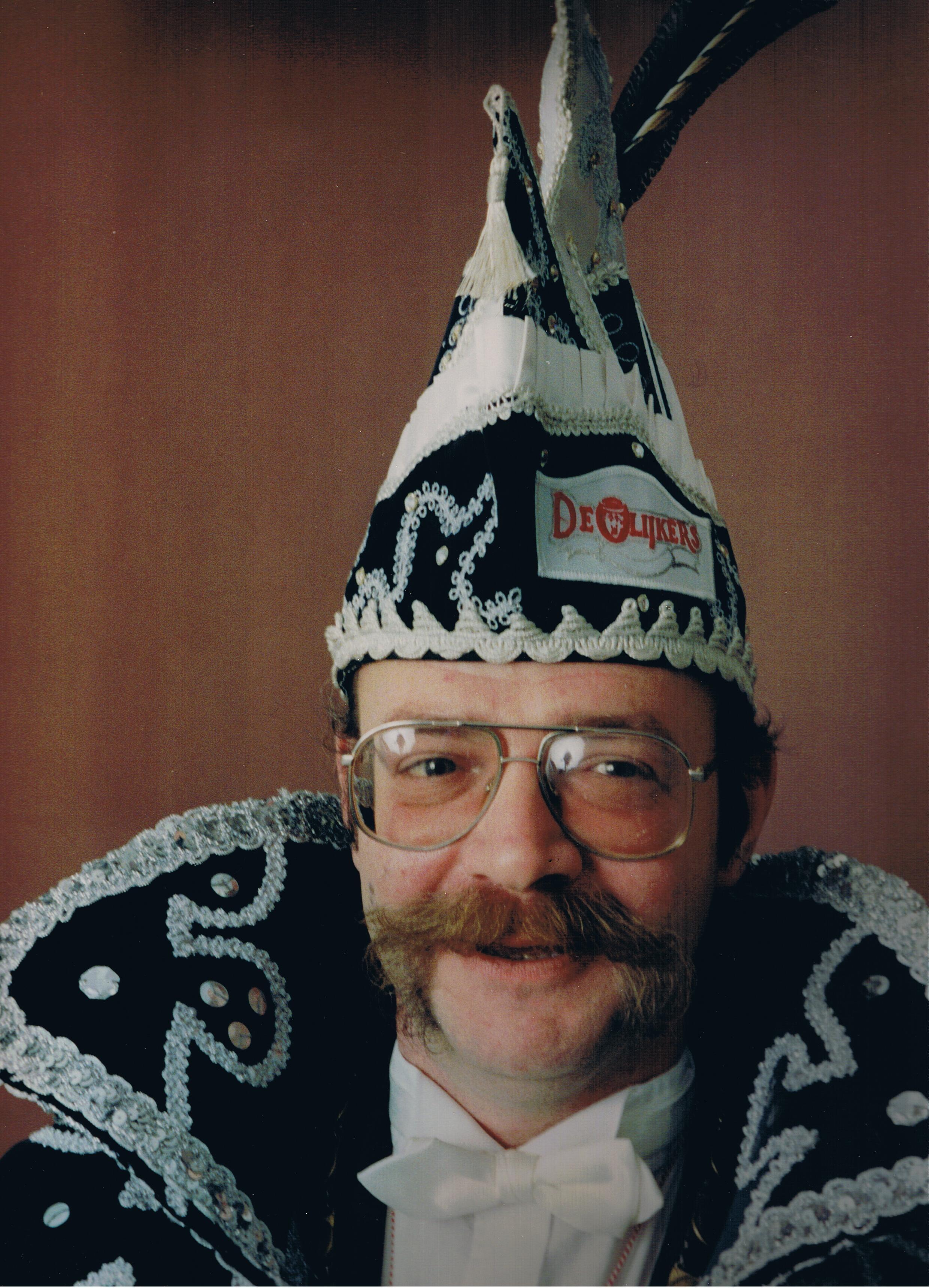 1991 1992 Prins Hans de 1e Hans Wubben
