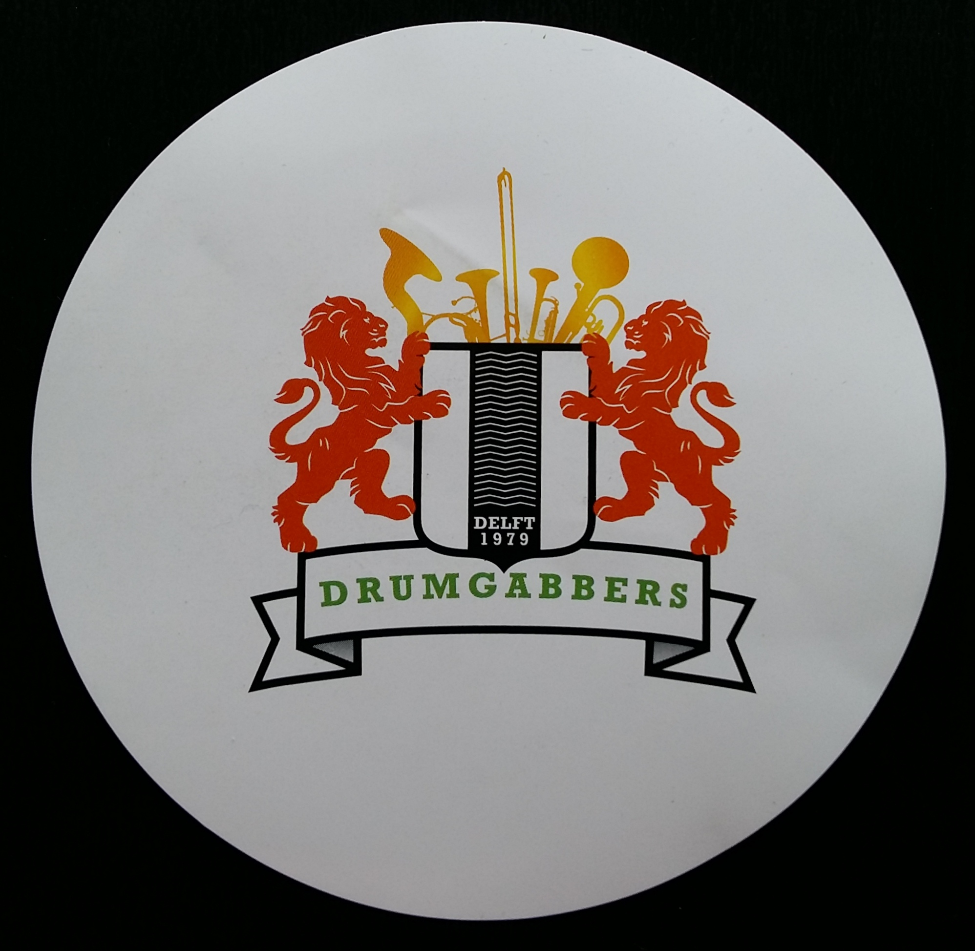 2017 Drumgabbers sticker