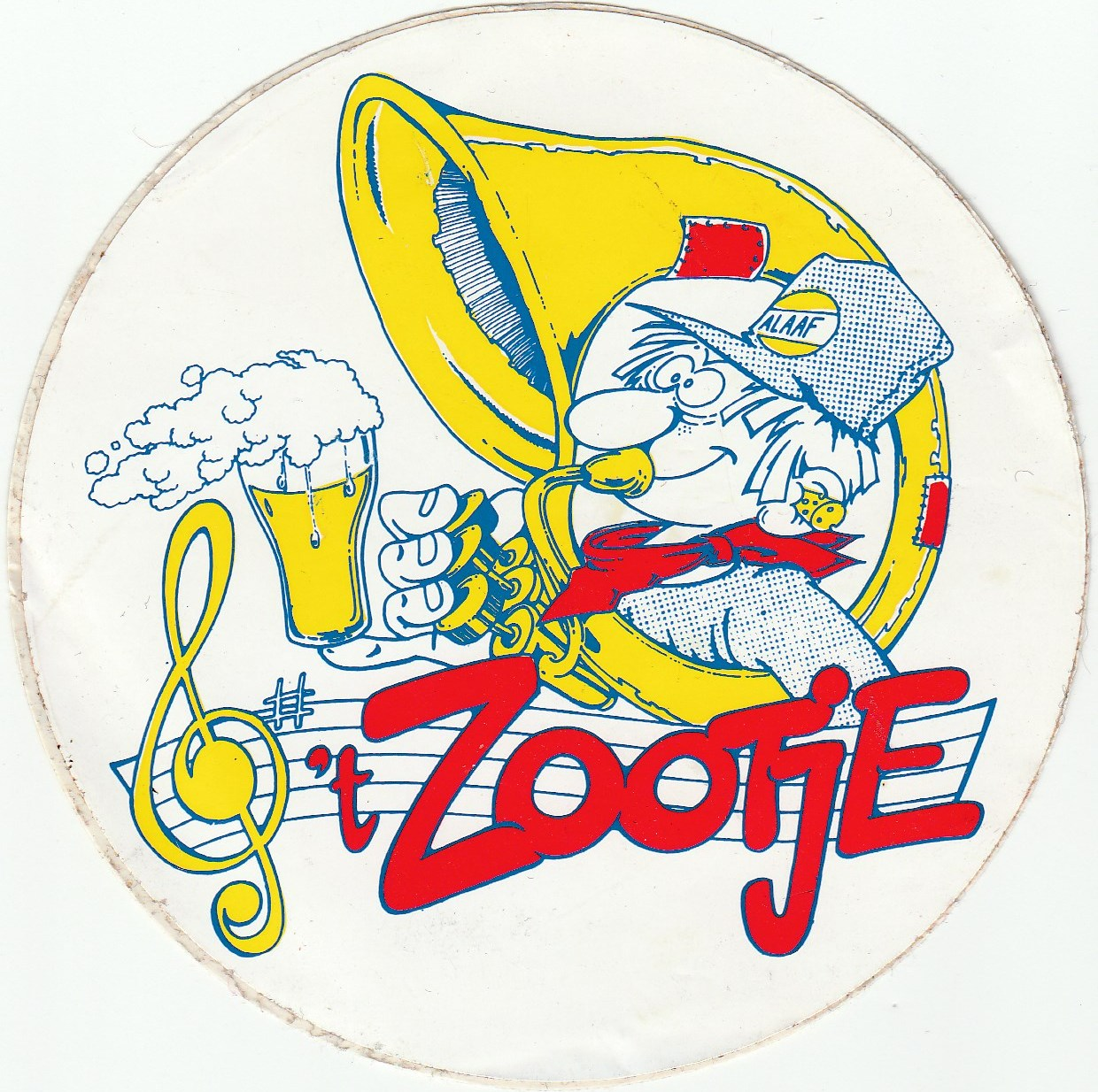 t Zootje sticker 01