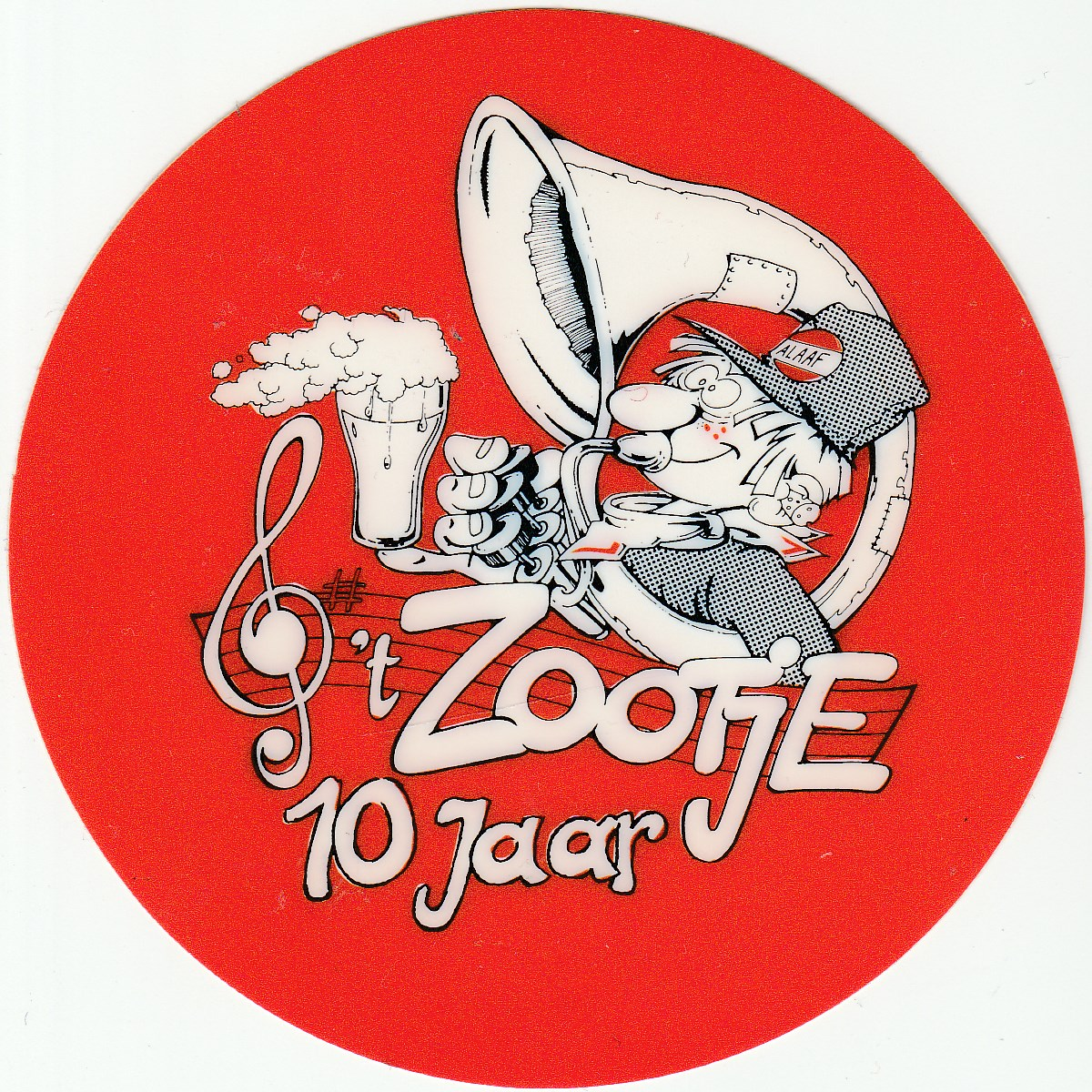 t Zootje sticker 02