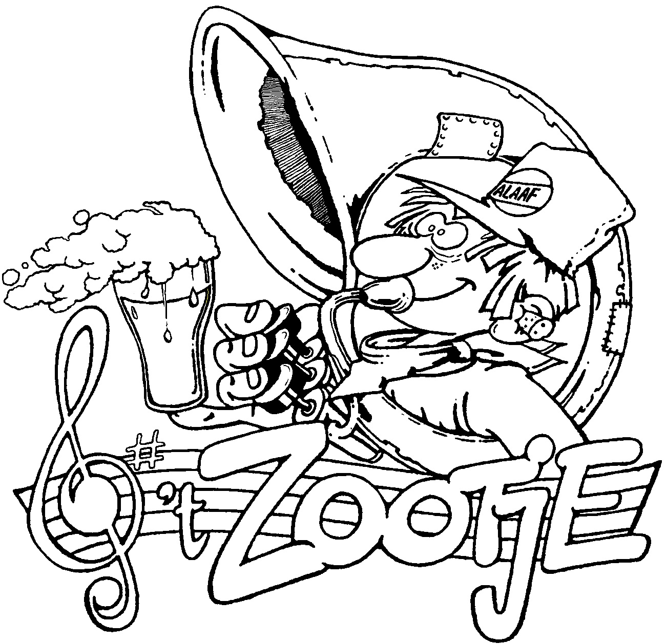 t Zootje sticker 04